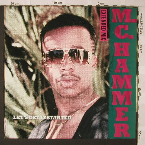 M.C.Hammer: Let's Get It Started*3, Capitol(20 2946 6), D, 1988 - LP - F220 - 3,00 Euro