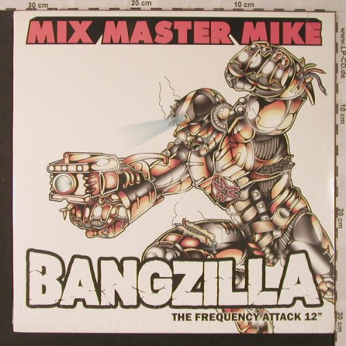Mix Master Mike: Bangzilla *5, FS-New, Scratch Recordings(SCR003-1), , 2004 - 12inch - F2210 - 9,00 Euro