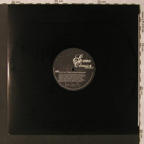 V.A.Soma Classics Vol. 2: Silicon Soul-Right On/Desert Storm, Soma(), EU, LC, 2000 - 12inch - F2237 - 5,00 Euro