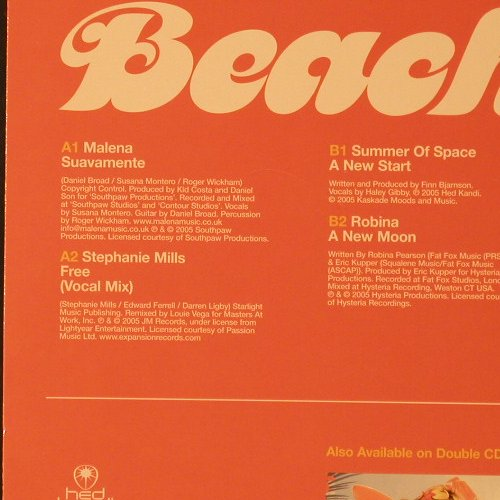 "V.A.Beach House 04. 05: Ltd. Edition 12"", Hed Kandi(HEDKLP049), , 2005 - 2LP - F2283 - 12,50 Euro"