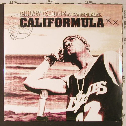Khule,Ellay aka Rifleman: Califormula, FS-New, Project Blowed and Decon(DCN 24DLP), , 2002 - 2LP - F2284 - 15,00 Euro