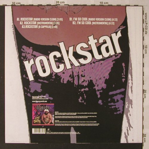 Bizarre: Rockstar*3/I'm so cool, Sanctuary(SANTW379), EU, 2005 - 12inch - F2316 - 5,00 Euro