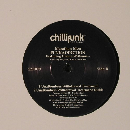 Marathon Men: Blessings, mix/Funkaddiction, Chillifunk(12cf079), , 2006 - 12inch - F2494 - 4,00 Euro