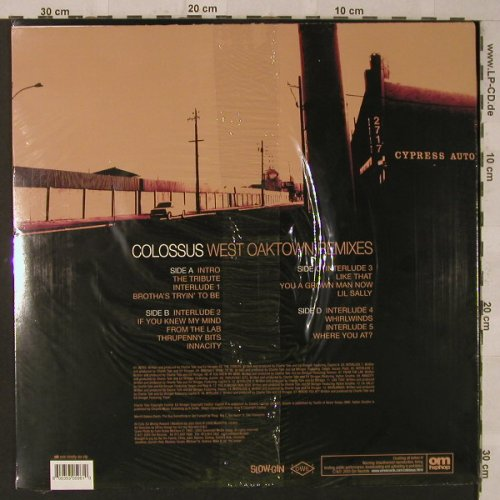 Colossus: West Oaktown, FS-New, OM Rec(oh196vlp), , 2005 - 2LP - F2536 - 14,00 Euro