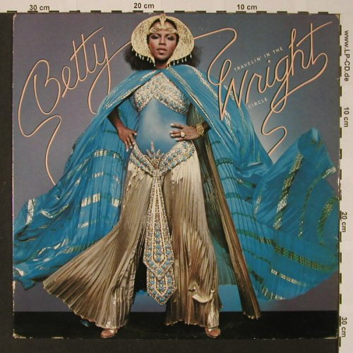 Wright,Betty: Betty Travelin'In The Wright Circle, T.K.(Alston 4410), US,woc, 1979 - LP - F2715 - 6,00 Euro
