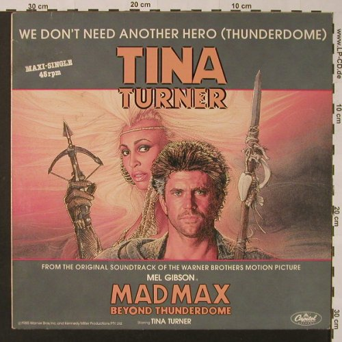 Turner,Tina: We Don't Need Another Hero*2, Capitol(20 0713 6), EEC, 1985 - 12inch - F2824 - 2,50 Euro