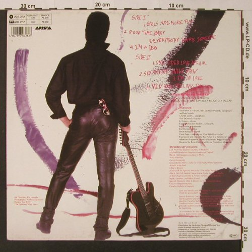 Parker Jr.,Ray: Sex And The Single Man, Arista(207 252-620), D, 1985 - LP - F3030 - 5,00 Euro