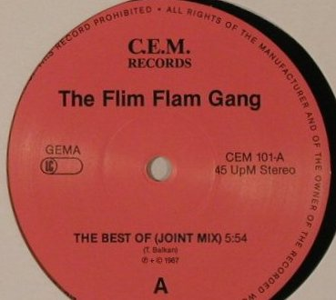 Flim Flam Gang: The Best Of(Joint Mix)+1, LC, C.E.M. Records(CEM 101), D, 1987 - 12inch - F3066 - 5,00 Euro