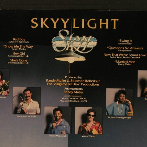 Skyy: Skyylight, co, Ramshorn(RHR 5068), NL, 1983 - LP - F3074 - 5,00 Euro
