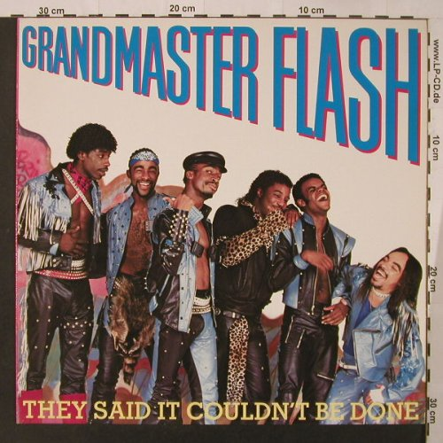 Grandmaster Flash: They Said It Couldn't Be Done, Elektra(960 389-1), D, 1985 - LP - F3534 - 9,00 Euro