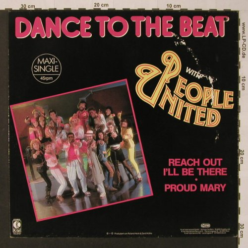 People United: Reach Out I'll Be There /Proud Mary, K-tel(TG 2101), D,m-/vg+co, 1986 - 12inch - F3672 - 2,50 Euro