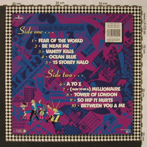ABC: How To Be A Zillionaire, Mercury(NTRH3), UK, 1985 - LP - F3717 - 4,00 Euro