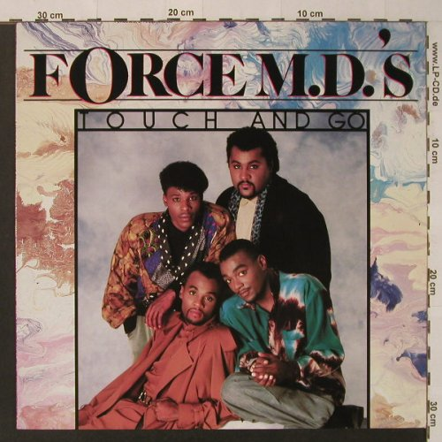 Force M.D.'S: Touch And Go, Tommy Boy(254 889-1), D, 1987 - LP - F4479 - 6,00 Euro