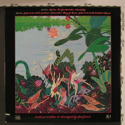 James,Rick: Garden of Love, Gordi(G8-995M1), US, co, 1980 - LP - F5132 - 7,50 Euro