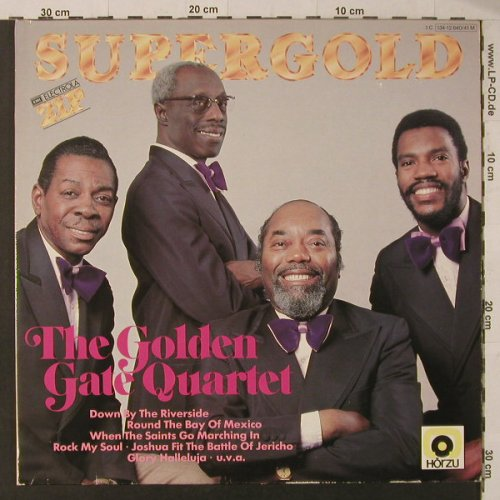 Golden Gate Quartet: Supergold, Foc, HörZu(134-12 640/41M), D,  - 2LP - F5730 - 7,50 Euro