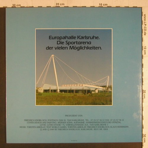 Michelle and t.Top Motion: World / Saxophon Games, Euro Musik(08-024897-20), D, 1989 - 12inch - F6025 - 3,00 Euro