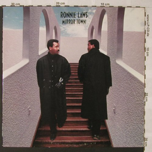 Laws,Ronnie: Mirror Town, Columbia(BFC 40089), US, 1986 - LP - F607 - 5,00 Euro