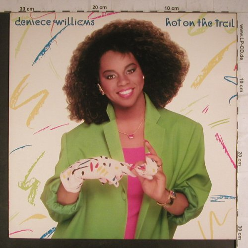 Williams,Deniece: Hot On The Trail, CBS(26690), NL, 1986 - LP - F6943 - 5,50 Euro