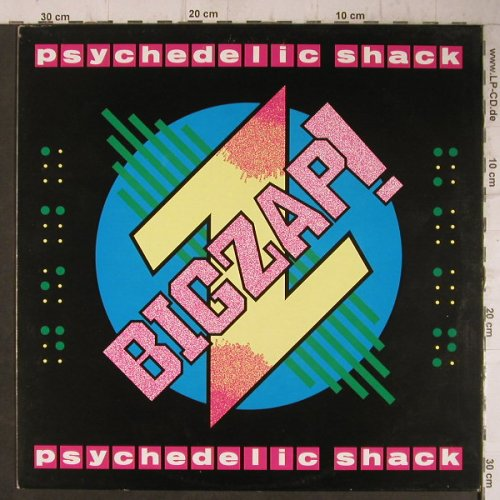Bigzap!: Psychedelic Shack/Zap Attack,co, TIM(12 MoT 7), UK, 1987 - 12inch - F7682 - 4,00 Euro