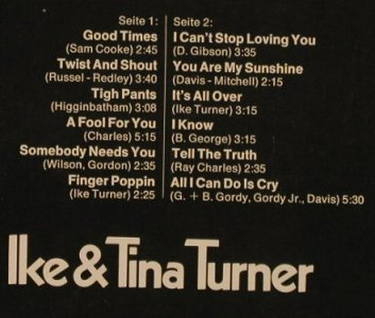 Turner,Ike & Tina: Star-Collection, Ri (Stage Cover), Midi(MID 26 002), D, 1973 - LP - F7744 - 6,00 Euro