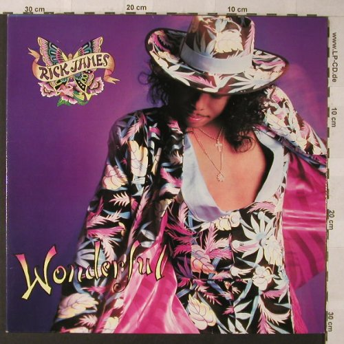 James,Rick: Wonderful, Foc, Reprise(925 659-1), D, 1988 - LP - F789 - 6,00 Euro