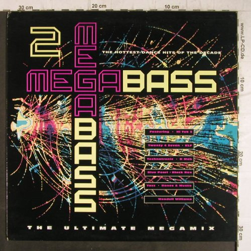 V.A.Megabass: 2 , Two in a Room..Yazz &..., Telstar(STAR 2448), UK, 1990 - LP - F8680 - 6,00 Euro