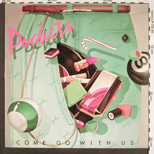 Pockets: Come Go With Us, vg+/vg+, CBS(82 288), NL, 1977 - LP - F9461 - 4,00 Euro