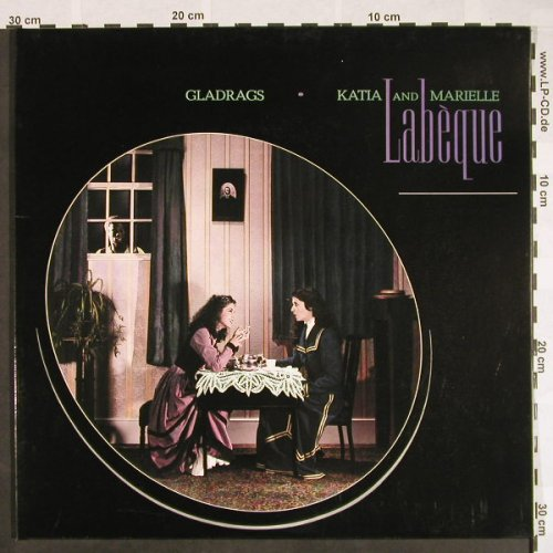 Labeque,Katia and Marielle: Gladrags, Foc, EMI(065-43 461), D, 1983 - LP - F9549 - 6,00 Euro