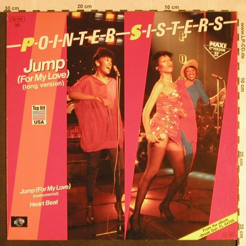 Pointer Sisters: Jump(For My Love)*2+1,Long Version, Planet(FC 3781), D, 1983 - 12inch - H115 - 4,00 Euro