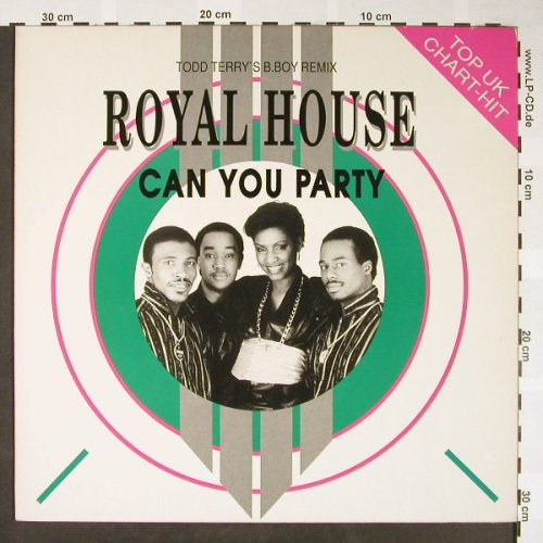 Royal House: Can you Party *3(Todd Terry..rmx), Bellaphon(120 07 299), D, 1988 - 12inch - H1648 - 4,00 Euro