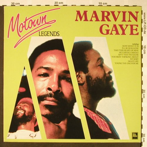 Gaye,Marvin: Motown Legends-Same, Motown(TL 72305), D, Ri, 1984 - LP - H1694 - 6,00 Euro