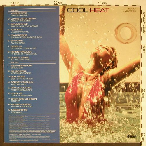 V.A.Cool Heat: The Hottest, Jazziest Coolest..Hits, K-tel(NE 1231), UK,vg++/m-, 1983 - LP - H1702 - 4,00 Euro
