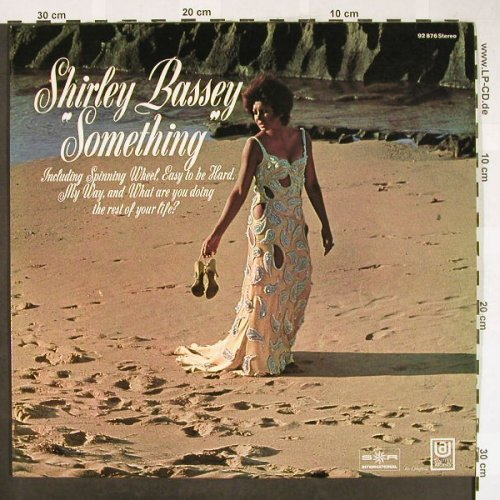 Bassey,Shirley: Something, S*R(92 876), D,  - LP - H1842 - 9,00 Euro
