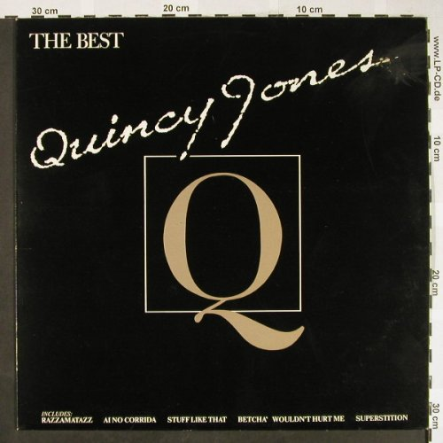 Jones,Quincy: The Best, m-/vg+, AM(LH 68542), D, 1982 - LP - H1875 - 5,00 Euro