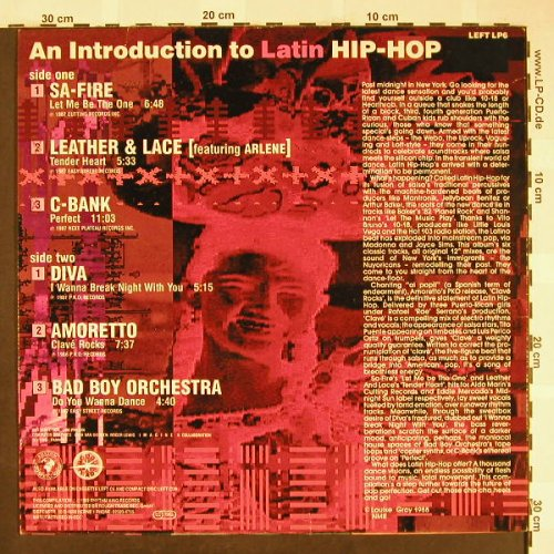 V.A.An Introduction t.Latin Hip-Hop: SA-Fire...Bad Boy Orchestra, Rhythm King(LEFT LP6), EEC, 1988 - LP - H1930 - 5,00 Euro