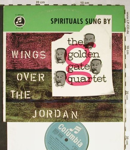 Golden Gate Quartet: Wings over the Jordan, vg+/m-, Columbia(C 60 556), D,  - 10inch - H2191 - 6,00 Euro