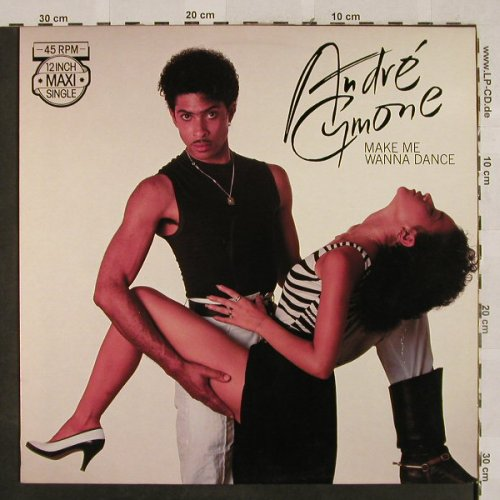 Cymone,Andre: Make me wanna dance*2, CBS(A 12.3818), NL, 1983 - 12inch - H2670 - 4,00 Euro