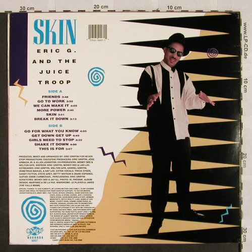 Eric G. and the Juice Troop: Skin, On Top(OT 9007), US, 1991 - LP - H2806 - 7,50 Euro