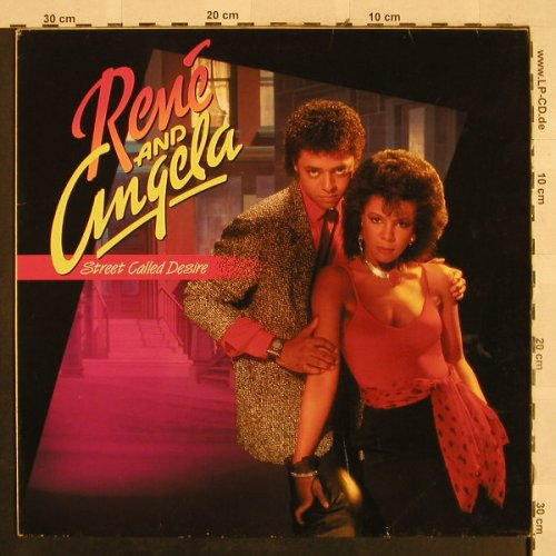 Rene and Angela: Street Called Desire, Mercury(824607-1Q), D, 1985 - LP - H2818 - 5,00 Euro