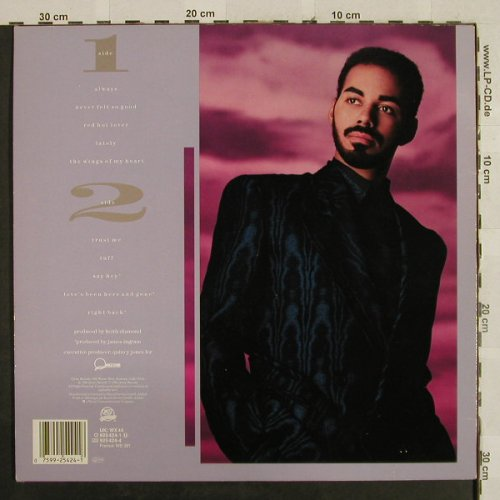 Ingram,James: Never felt so good, Qwest(925 424-1), D, 1986 - LP - H2838 - 5,00 Euro