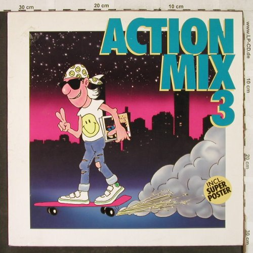V.A.Action Mix 3: Michael Zager...Kid Paul...+Poster, BCM(12 211), D,4Tr.,  - 12inch - H3541 - 4,00 Euro