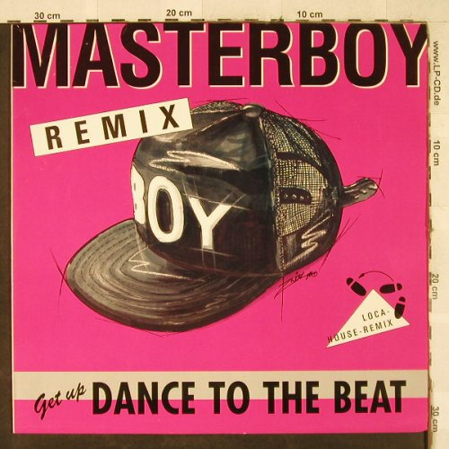 Masterboy: Dance to the Beat *3-Loca-House-Rmx, Polydor(877 403-1), D, 1990 - 12inch - H3546 - 4,00 Euro