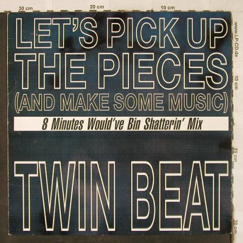 Twin Beat: Let's pick up the pieces,3Tr., BCM(B.C.12-2109-40), D,  - 12inch - H3547 - 4,00 Euro