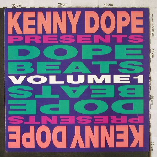 Kenny Dope: Dope Beats-Volume 1, 10 Tr., Cutting Rec.(CR 2010), US, 1993 - LP - H3548 - 5,00 Euro