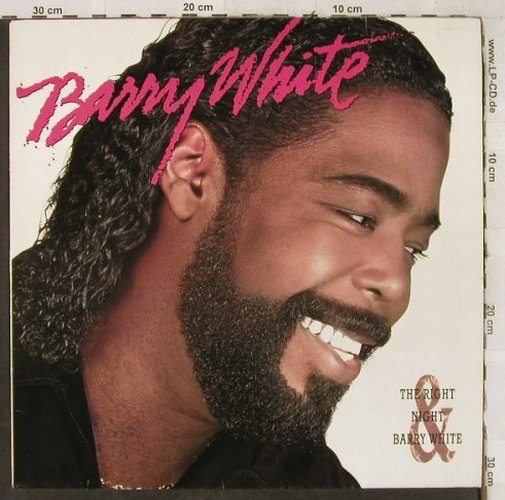 White,Barry: The Right Night, AM(395 154-1), , 1987 - LP - H3679 - 5,50 Euro