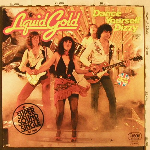 Liquid Gold: Dance Yourself Dizzy*2, Creole(6.20067 AE), D, 1980 - 12inch - H3884 - 3,00 Euro