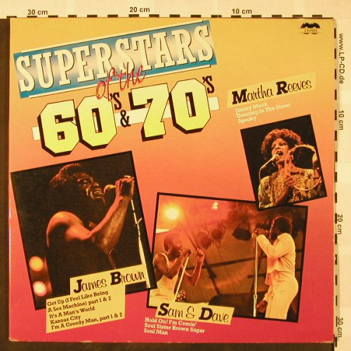 V.A.Superstars of the 60's & 70's: Martha Reeves...James Brown, Foc, Curcio(HRD-3(7+8)), I,  - 2LP - H4054 - 7,50 Euro