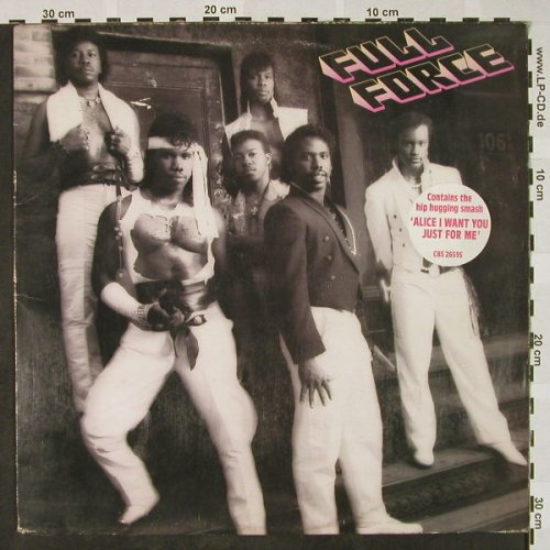 Full Force: Same, m-/vg+, CBS(CBS 26 595), UK, 1985 - LP - H4379 - 5,00 Euro