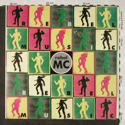 Rebel MC: Rebel Music +2, Desire(WANT X 31), UK, 1990 - 12inch - H4381 - 3,00 Euro