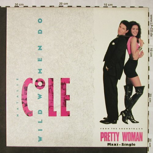 Cole,Natalie: Wild Woman Do*3(Pretty Woman), EMI(2037966), US, 1990 - 12inch - H4745 - 4,00 Euro